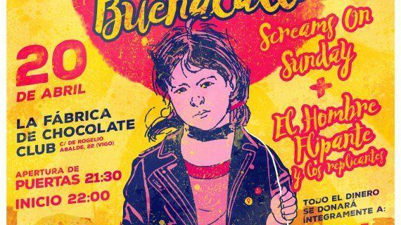 III Concerto Solidario de BuenaCalle en Vigo
