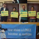 A Plataforma Galega en Defensa do Ensino Público chama a boicotear as reválidas