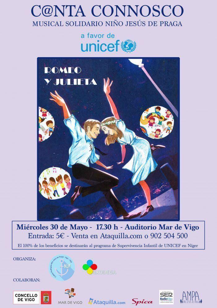 Musical Solidario Colegio Niño Jesús de Praga C@nta Connosco a favor de UNICEF
