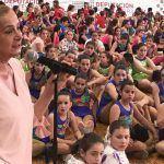 """Carmela Silva anuncia que a Deputación ampliará as """"Deporte Escolas"""" a maiores de 15 anos"""