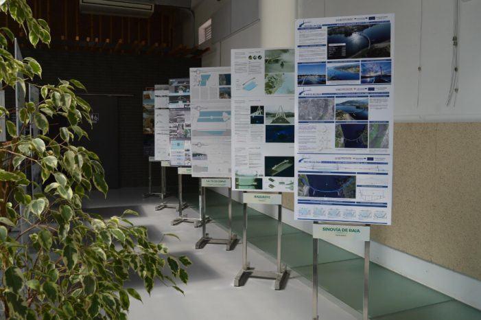 Tomiño acolle a exposición sobre o concurso de ideas para a nova ponte peonil que unirá O Castelinho co Espazo Fortaleza