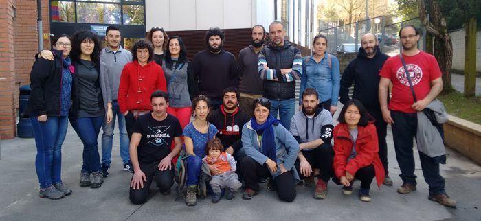 Crónica da viaxe da mocidade do Sindicato Labrego Galego a Euskadi para visitar proxectos agroecolóxicos