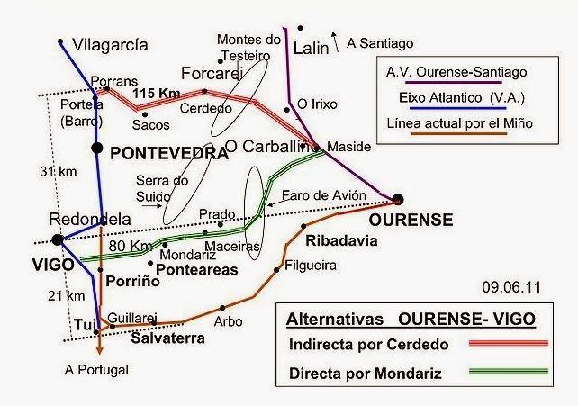 """Elena Muñoz solicita al Ministerio un """"calendario con plazos concisos y concretos"""" sobre la variante del AVE por Cerdedo"""