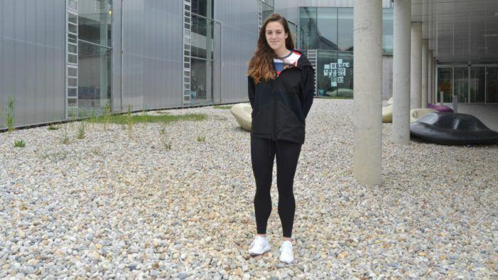 Récord mundial e alumna do campus