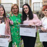 A pontevedresa Eva Fontáns e as viguesas Lucía Troncoso e Raquel Armán reciben os II Premios Sofía Novoa Ortiz