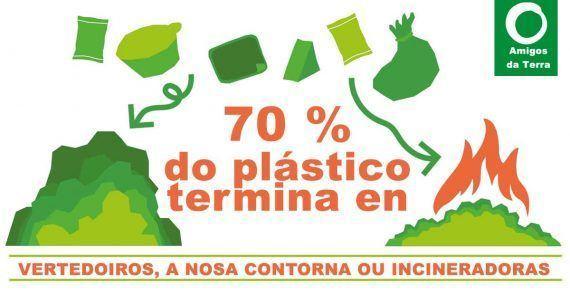 """O """"Plastic Attack"""" chega ao Morrazo"""