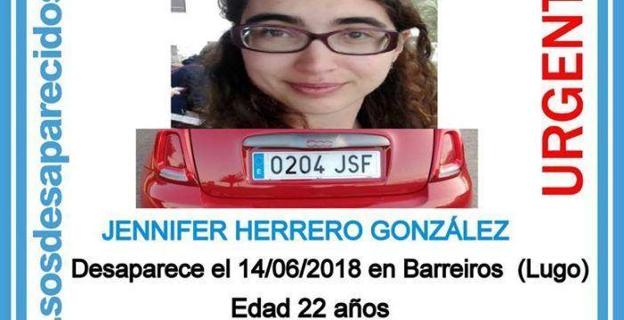 Desaparece unha moza de Barreiros en Lugo e rogase colaboración