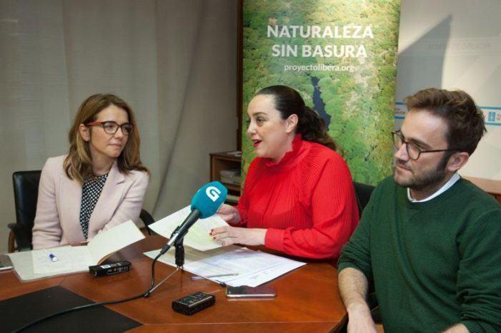 A Xunta invita á sociedade a sumarse a unha das 22 batidas de limpeza '1m2 pola naturaleza' para mitigar o impacto do lixo nos espazos naturais