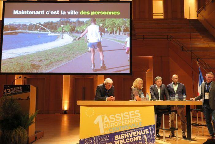Pontevedra sorprende na 13 Conferencia francesa sobre os centros urbanos