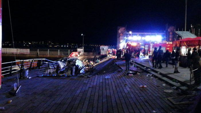 En Marea e Marea de Vigo trasladan o seu total apoio e solidariedade coas vítimas do sinistro no Marisquiño e manifestan o seu agradecemento e recoñecemento ao bo facer dos servizos sanitarios e de emerxencias