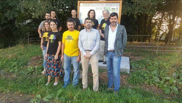 O concello e roteiros de Lalín acometen a sinalización permanente da ruta das Fragas de Catasós