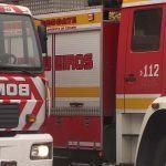 Evacuadas vinte e oito persoas tras un incendio no almacén dunha cafetería nun centro comercial en Narón