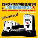 Lanzan o manifesto en apoio ás 19 de Meirás