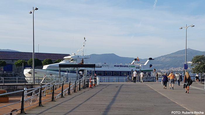 El servicio regular marítimo entre Cangas y Vigo se ajusta en sábados en respuesta a la demanda actual de usuarios