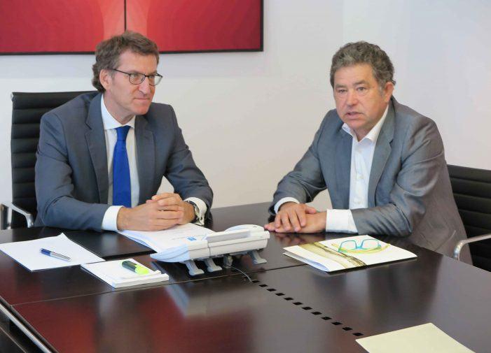 O alcalde Miguel Anxo Fernández Lores pidelle unha solicitude de entrevista ao presidente da Xunta nunha carta
