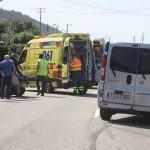 O accidente mortal no que se viron implicados dous vehículos esta mañá en Oia saldouse, ademais, con tres persoas feridas