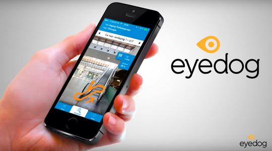 La nueva App Eyedog para la orientación para grandes espacios en dispositivos móviles