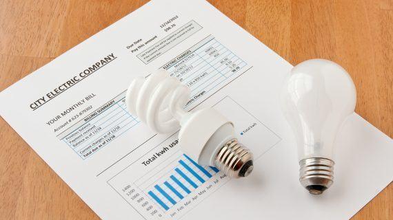 Outubro finalizou cunha subida interanual do 4,3% na factura eléctrica do usuario medio