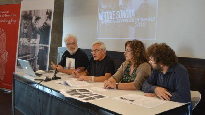 O VI Festival Vertixe Sonora propón nove citas coa vangarda sonora en Pontevedra, Vigo e Cangas