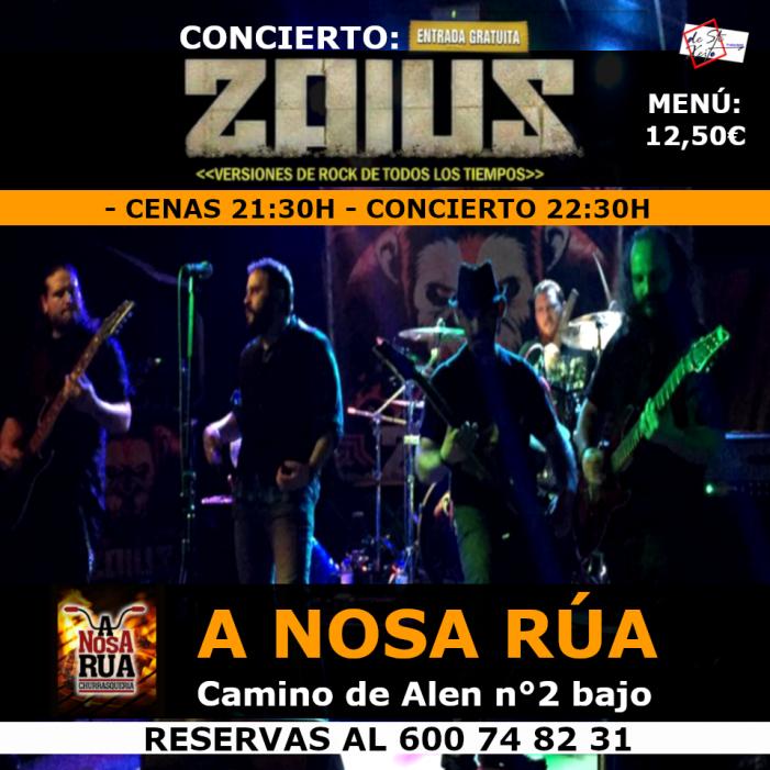 Concierto de Zaius en Vigo