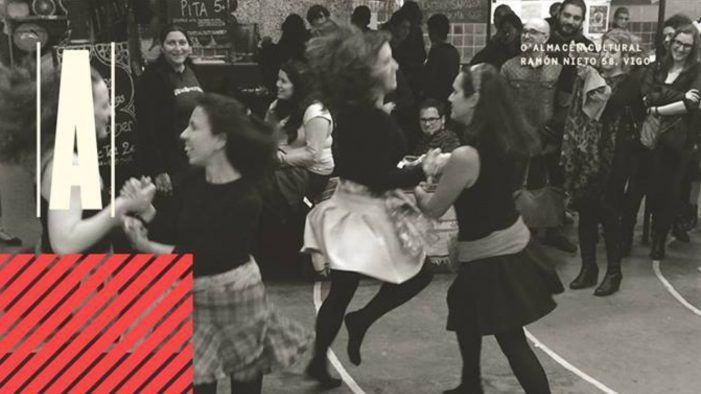 O Almacen Cultural de Vigo ven a organizar un taller de danza irlandesa, apúntaste?