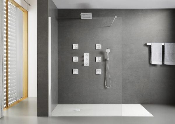 Un cuarto de baño de diseño actual con los más lindos accesorios de moda