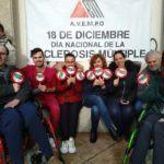 O 'Nadal Bus' de Vigo transfórmase no ' EMBus' con motivo do Día Nacional da Esclerose Múltiple