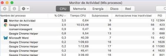 macOS Mojave es el último sistema operativo de Apple