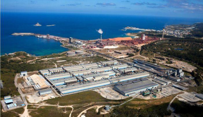 Esquerda Unida valora positivamente o acordo entre Alcoa e o Comité e pide que se manteña a participación pública da factoría no futuro