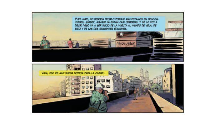 """O cómic """"El último día"""" enche Vigo de zombies"""