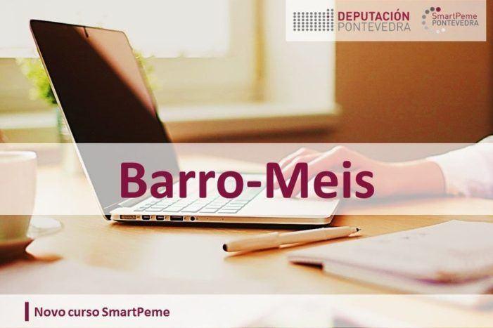 """O viveiro de empresas de Barro ofrece no mes de xaneiro catro accións formativas do programa da Deputación de Pontevedra """"SmartPeme"""""""