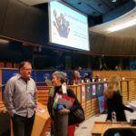 Lídia Senra achega ao Parlamento Europeo a loita pola recuperación da memoria histórica na Galiza