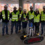 Un sistema robotizado mellora a calidade e reduce custes no control de obras de edificación