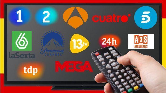 Telecinco é a canle con máis audiencia e os informativos de Antena 3, os máis vistos no 2018