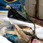 O proxecto RepescaPlas retira máis de tres toneladas de residuos mariños en Marín, Vigo e Gandía