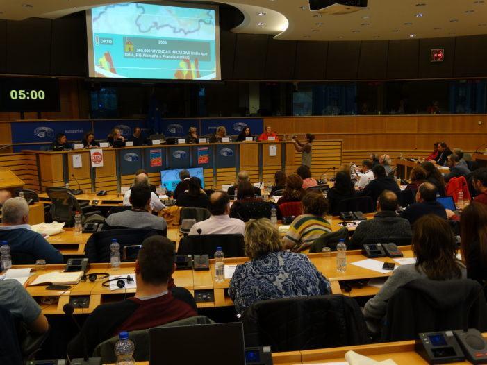 Galiza reivindica no REALPE 2019 políticas públicas que garantan o dereito á vivenda e fagan fronte á especulación