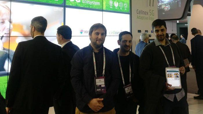 O Grupo de Tecnoloxías da Información participa en Barcelona no Mobile World Congress