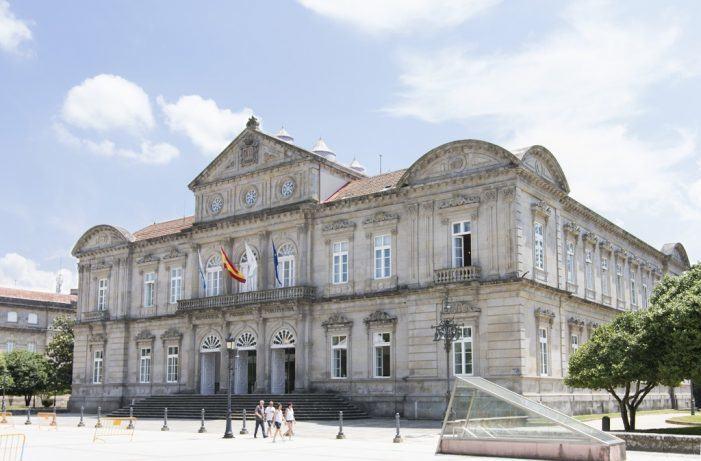 A escalinata do Pazo provincial converterase este xoves no escenario da Gala do Deporte de Elite da Deputación de Pontevedra