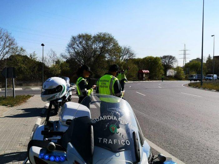A DXT intensifica a vixilancia do uso do cinto de seguridade e dos SRI por parte de todos os ocupantes do vehículo