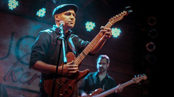 """Vigo acolle o concerto de Little G Weevil con Del Toro Blues Band no ciclo internacional de Blues """"Mais Que Blues"""""""
