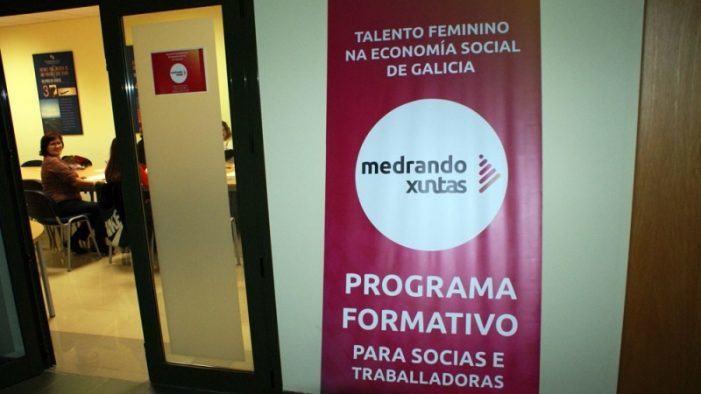 A Xunta pon en marcha a terceira edición do programa 'Medrando Xuntas' para promover o talento feminino na economía social