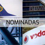 BBVA, Endesa, Ryanair e  Vodafone, nomeadas na 10ª edición dos premios á Peor Empresa do Ano