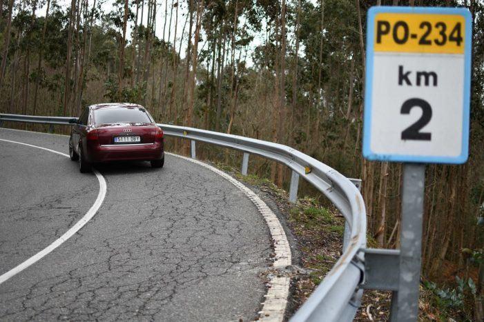 A Xunta convoca os días 23, 24, 25 e 26 de abril os titulares dos terreos afectados pola mellora da estrada entre Ponte Caldelas e Laxoso para o levantamento de actas previas