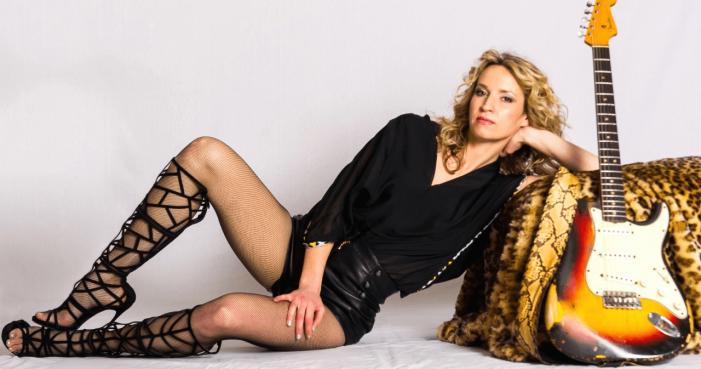 Vigo acollera o único concerto de Ana Popovic unha das grades divas do Blues internacional
