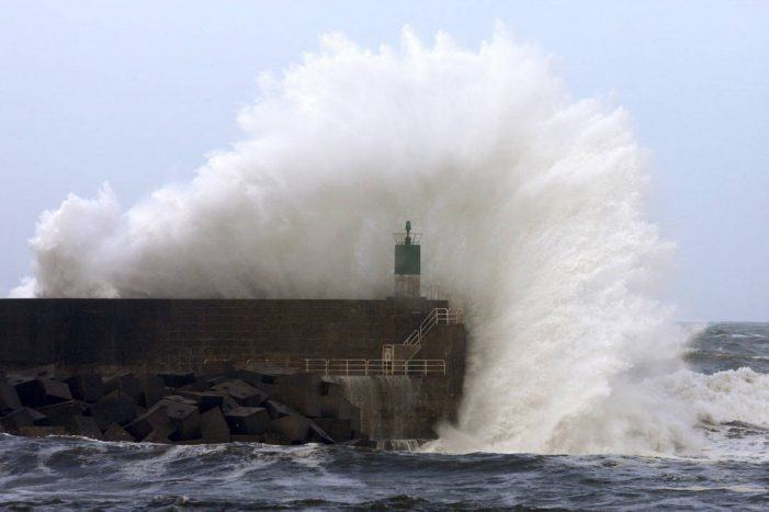 A Xunta alerta dun temporal de nivel laranxa costeiro e de vento e chuvia nas provincias da Coruña, Pontevedra e Lugo