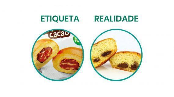Denuncian a esaxerada manipulación da imaxe nos envases dalgúns alimentos