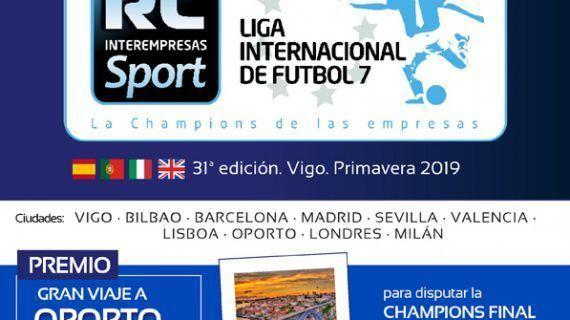 ¡Llega a Vigo la Liga Internacional de Futbol 7 RC Inter-empresas!