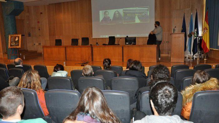 Unha videoconferencia facilita a 'viaxe' á Antártida do alumnado de Ciencias do Mar