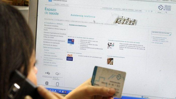 O portal web do Sergas rexistrou o pasado ano máis de 2,2 millóns de visitas, un 50,8% máis que en 2017