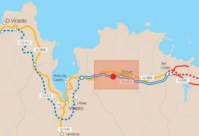 Licitan por 212.000 euros a recuperación do xacemento arqueolóxico de Lavandeiras (Xove) descuberto no transcurso das obras de construción da VAC Costa Norte